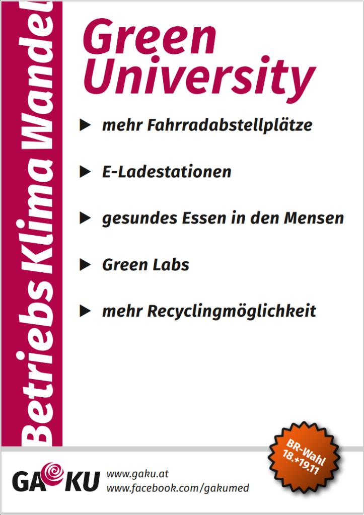 Green University-fixe